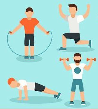 Fitnesstranining Männer Logo